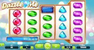 Dazzle Me online slot NetEnt