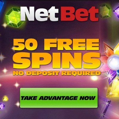 NetBet videoslots 50 free spins