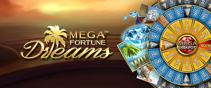Mega Fortune Dreams jackpot NetEnt