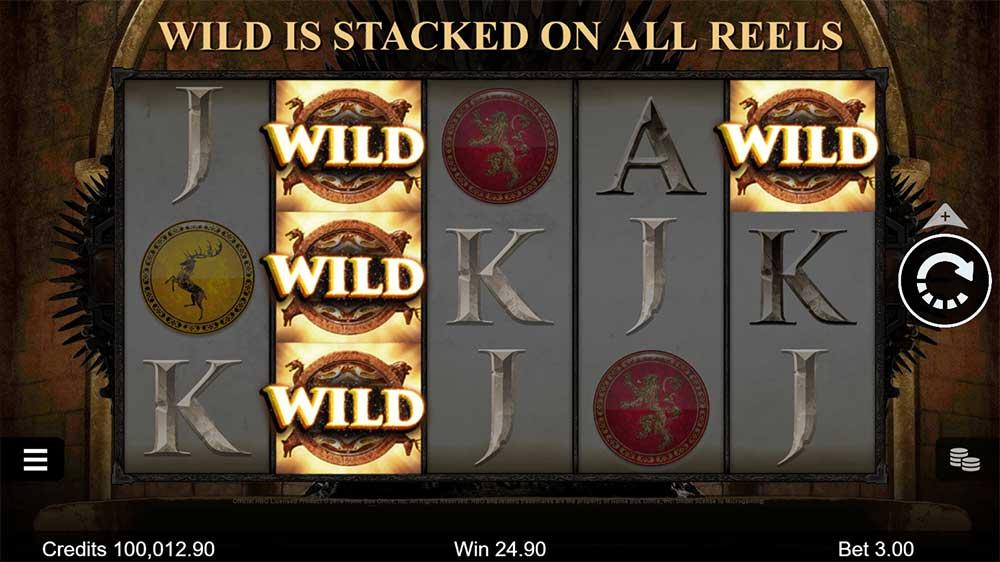 Game of Thrones gokkast Wilds