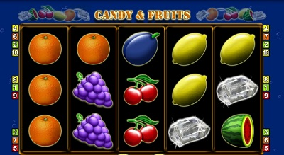 Candy and Fruits fruitkast