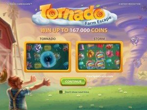 Tornado Farm Escape video slot