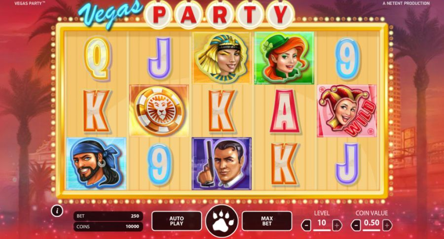 vegas party screenshot