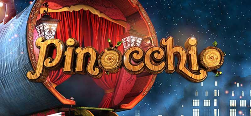 Pinocchio videoslot Betsoft