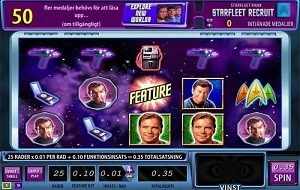 Star Trek videoslot Williams