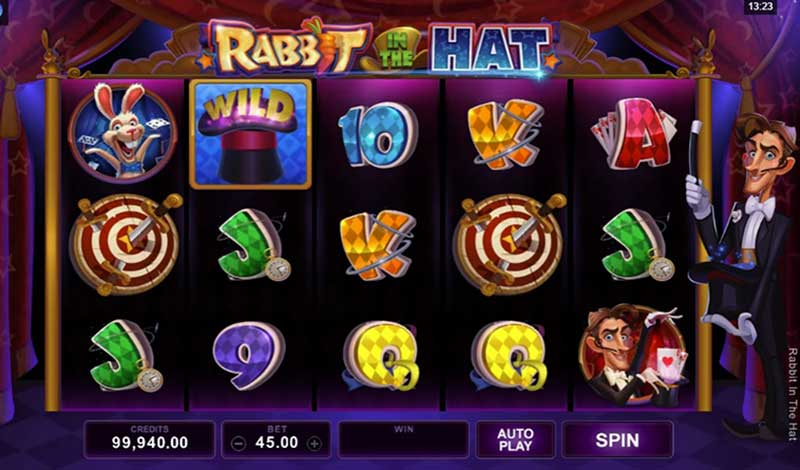 Rabbit in the Hat Microgaming