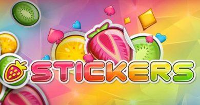 Stickers videoslot NetEnt