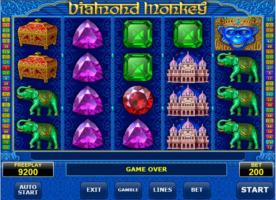Diamond Monkey videoslot