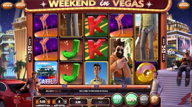 Weekend in Vegas Betsoft screenshot