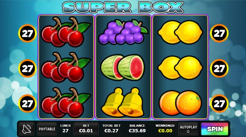 Super Box jackpot gokkast