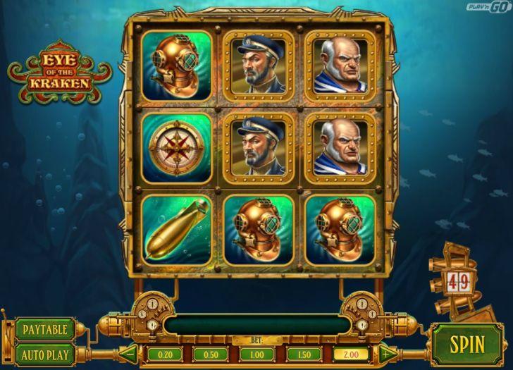 eye of the kraken online gokkast