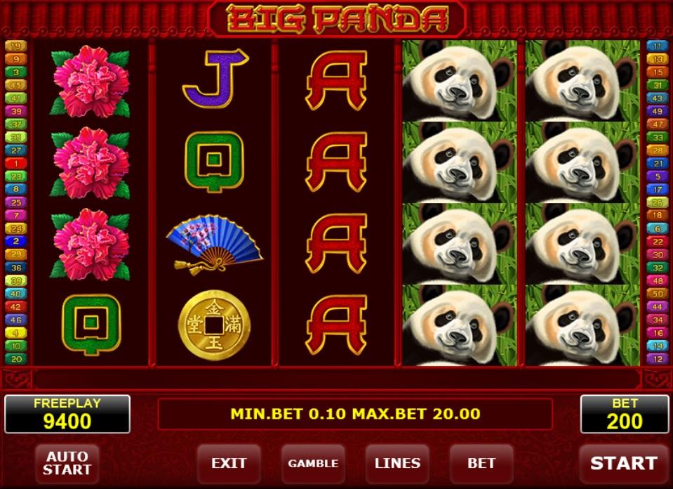 big panda amatic