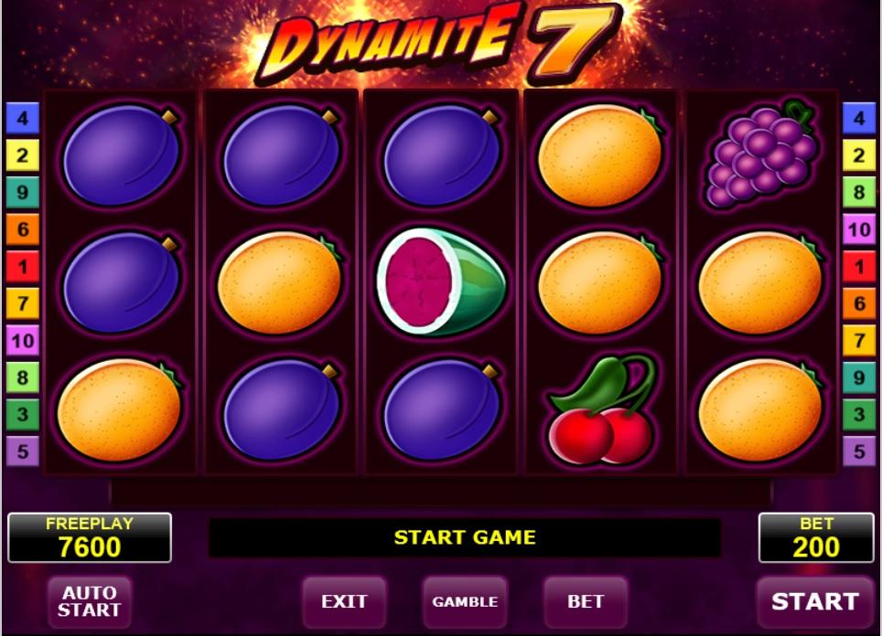 dynamite 7 amatic