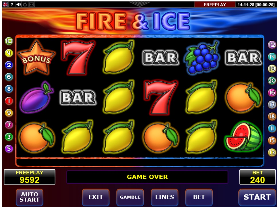 Fire and Ice Fruitkast