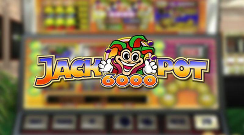 Jackpot 6000 gokkast NetEnt
