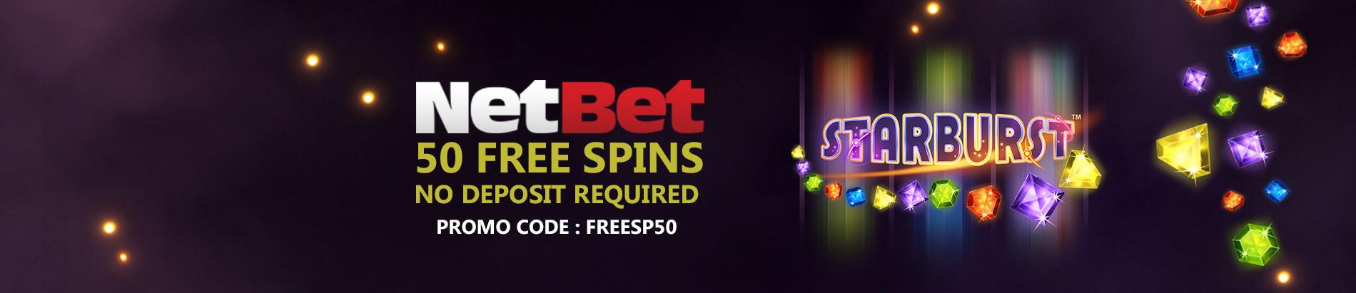 NetBet no deposit bonus