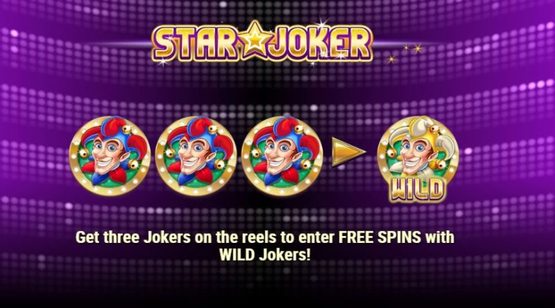 Star Joker Play'n go