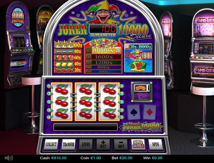 Joker 10.000 Deluxe gokkast
