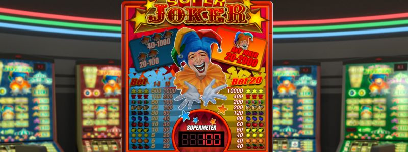 Super Joker gokkast Concept Gaming
