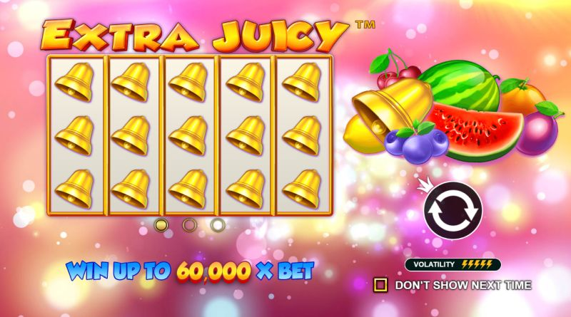 Extra Juicy fruitautomaat Pragmatic Play