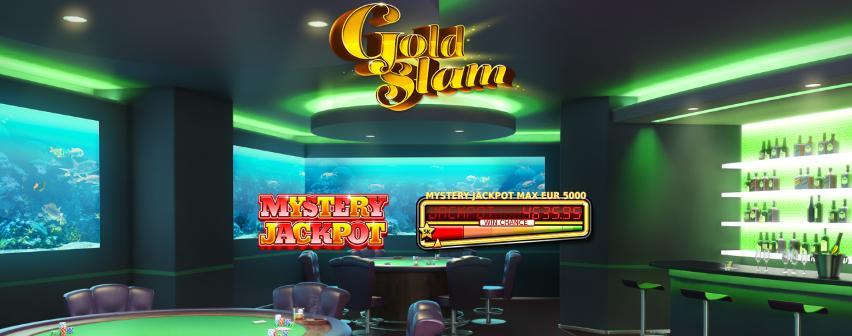 Gold Slam Mystery Jackpot