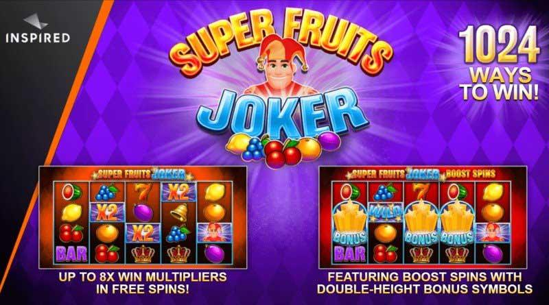 Super Fruit Joker gokkast SG Digital