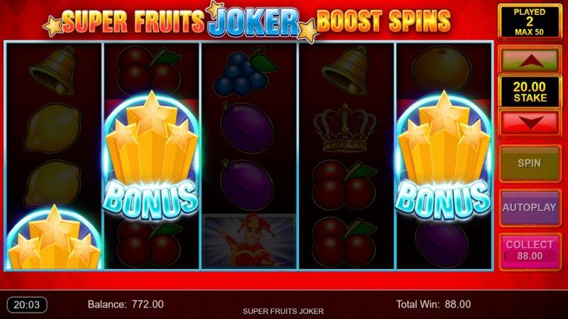 Super Fruits Joker Boost Spins
