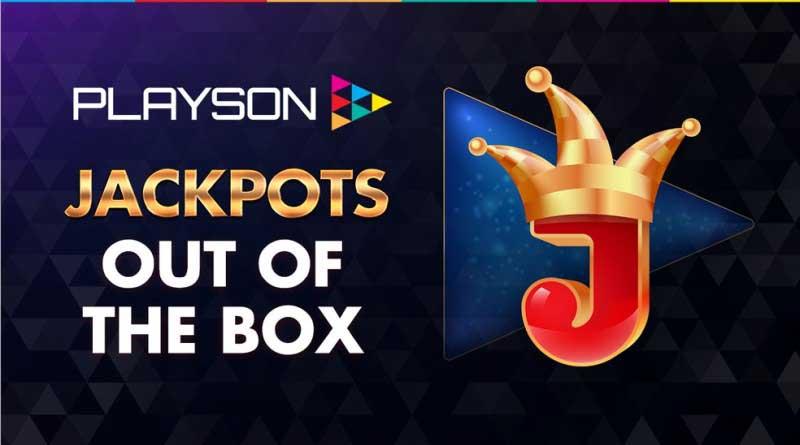Playson jackpots
