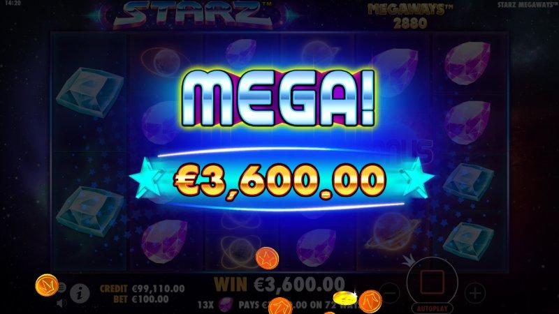 Starz Mega Win