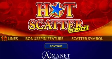 Hot Scatter Deluxe gokkast Amatic Amanet
