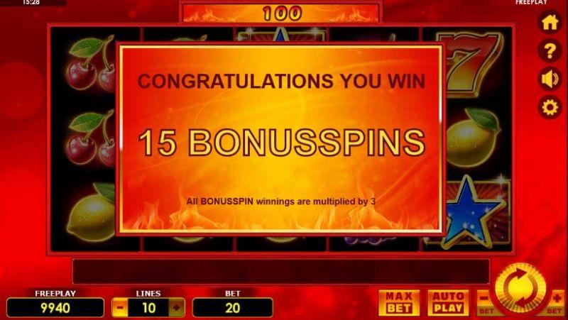 Bonusspins Hot Scatter Deluxe