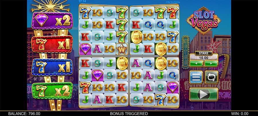 Slot Vegas MegaQuads bonus