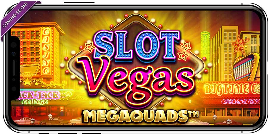 Slot Vegas MegaQuads mobiel spelen