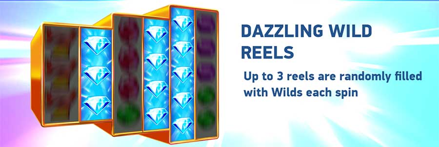 Dazzle Me Megaways Wild Reels